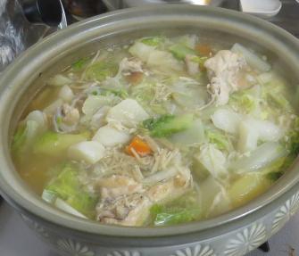 ハクサイ鍋料理