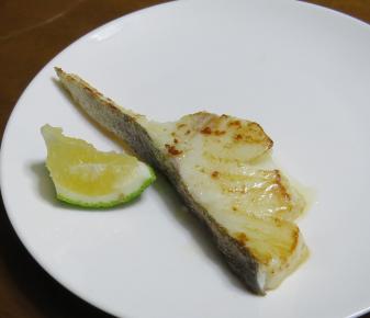 カボスと焼き魚