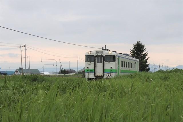 s-③石狩金沢下り列車