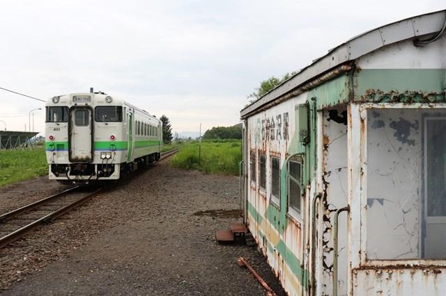 s-④貨車駅と列車