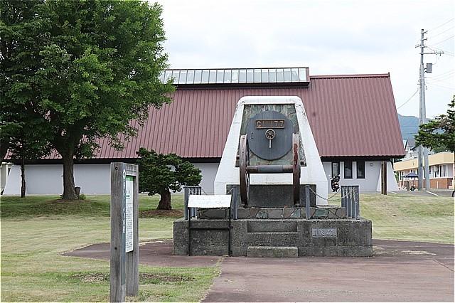 s-㉑浦臼町郷土資料館と動輪