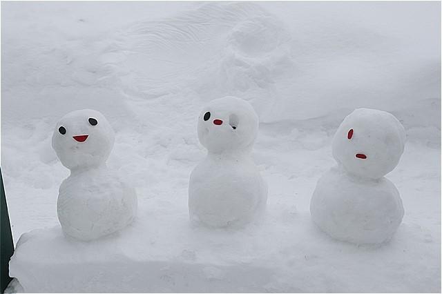 s-③雪だるま