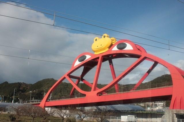 ④カエル橋