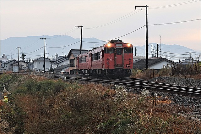 s-⑧下り列車