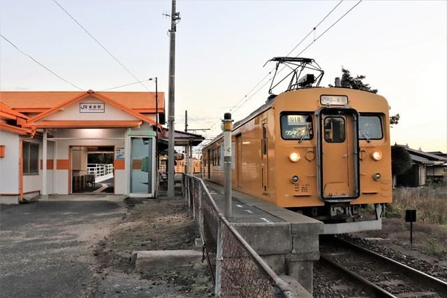 ③雀田本山線電車