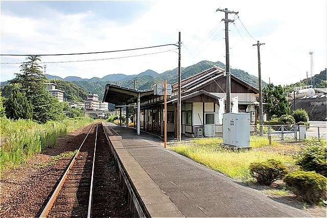 ⑮長門湯本駅