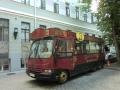 ブルガーコフの宣伝バス