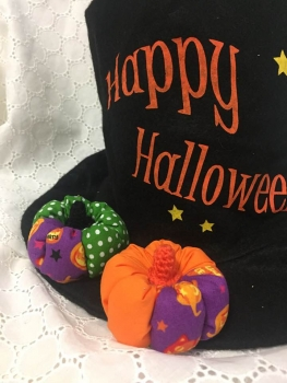 写真 カラフルかぼちゃ 縦