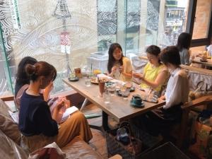 201807 Thecafe ニットカフェ