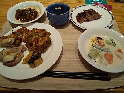 ホテル日航成田_夕食1
