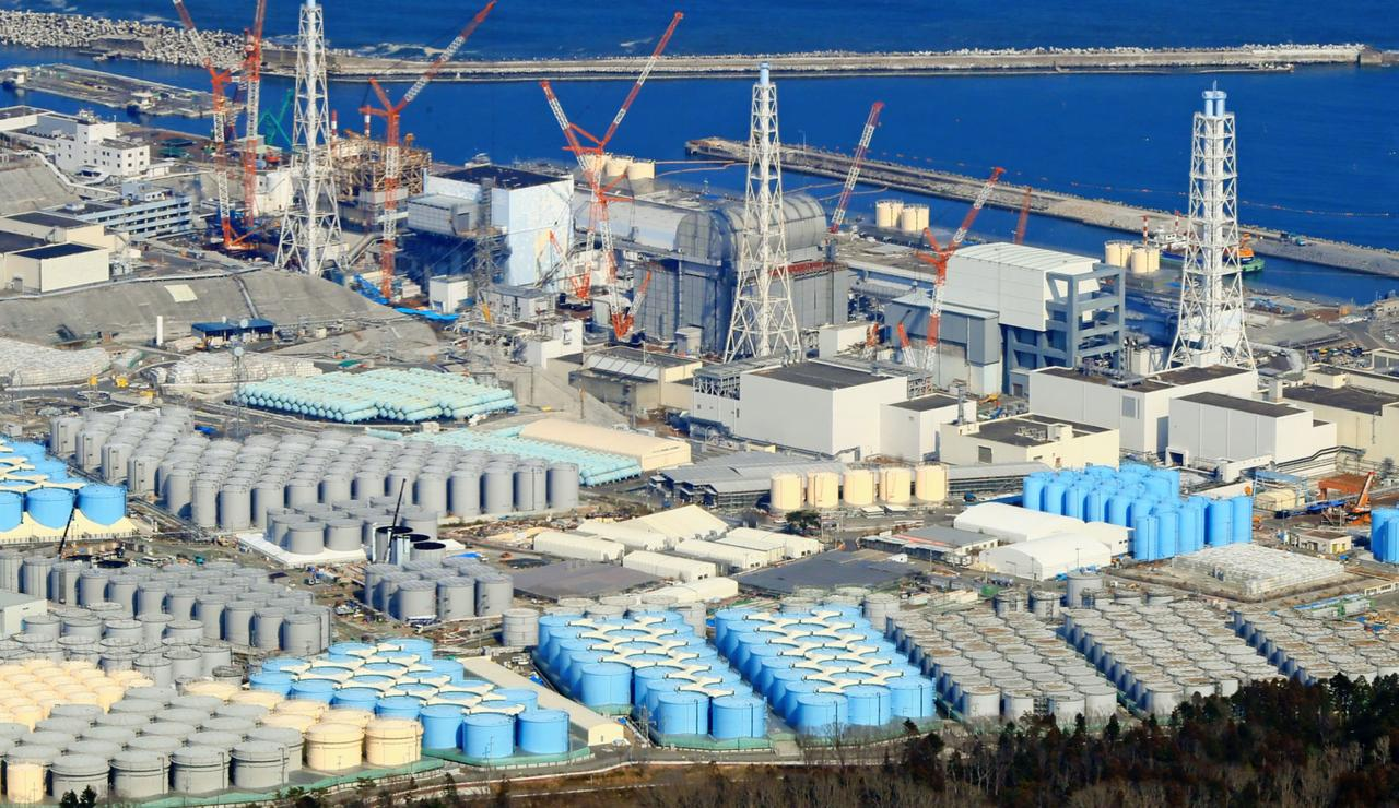 fukushima water tanks