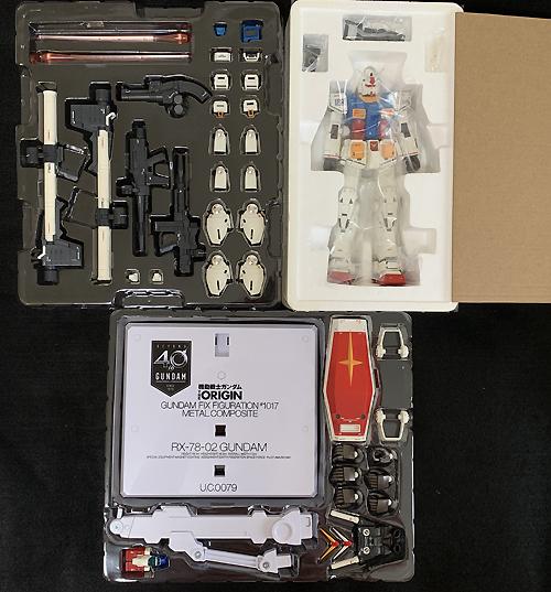ガンダムフィックス フィギュレーション メタルコンポジット RX-78-02 ガンダム(40周年記念Ver.)