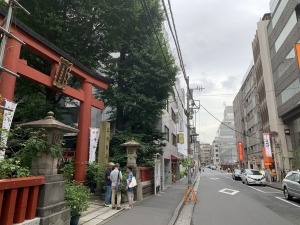 三崎神社通り