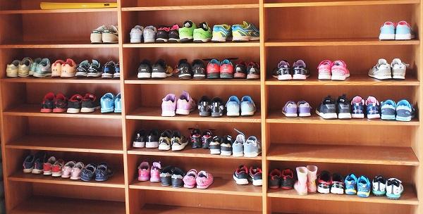 500合同坐禅体験 靴箱