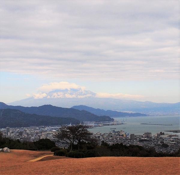 500日本平からの富士山