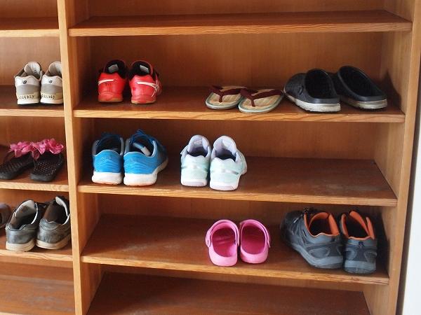 500靴の脱ぎ方