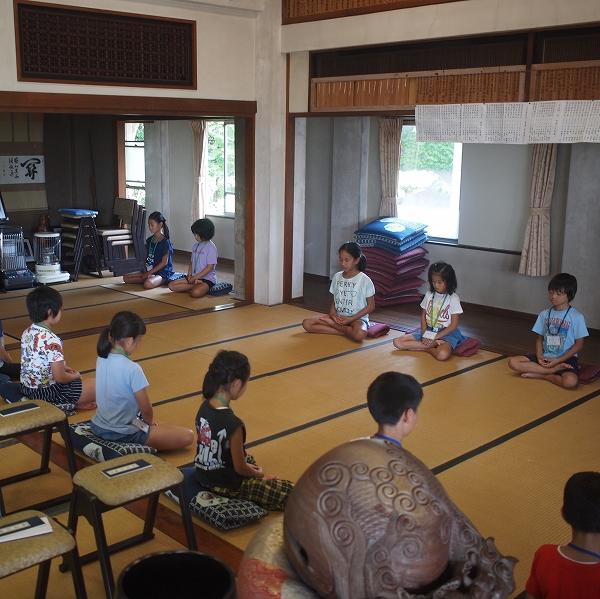 500子供坐禅研修会190819 4