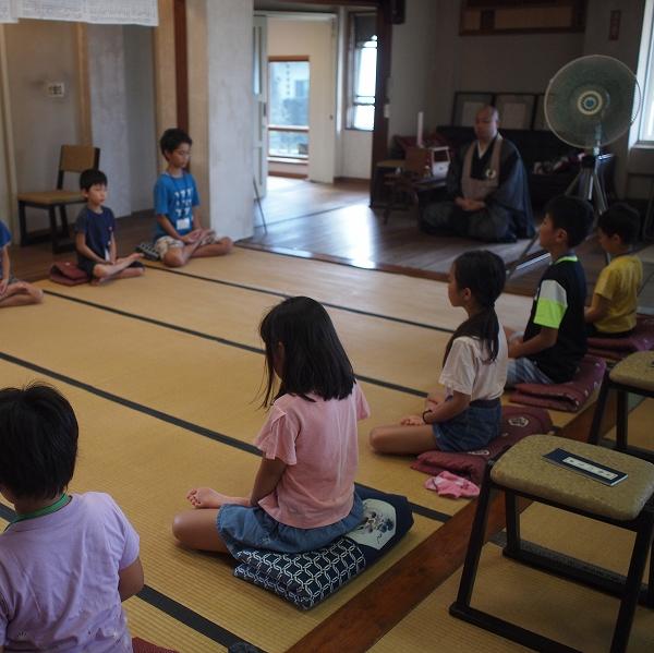 500子供坐禅研修会190820 3
