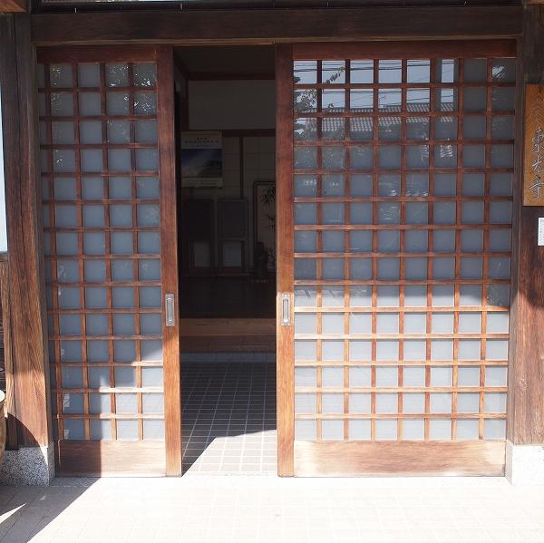 500玄関の石3