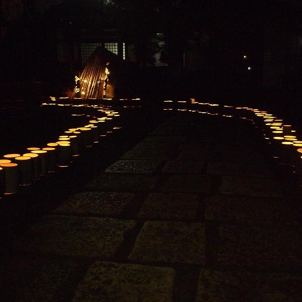 600竹灯り 開催報告19123111