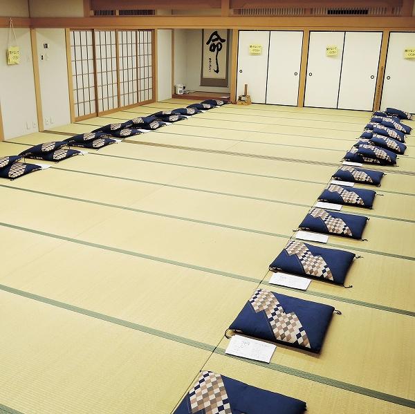 600県庁での坐禅会