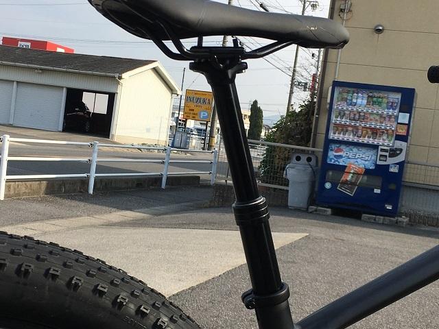 マウンテンバイク ドロッパーシートポスト (2)