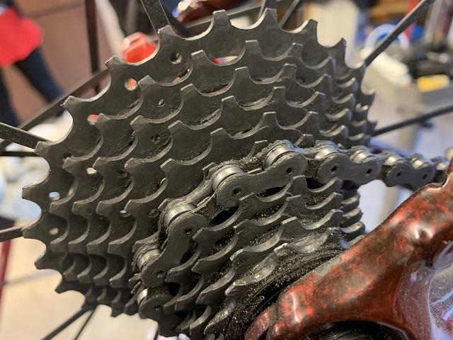 自転車屋 まるいち 自転車洗車 (3)