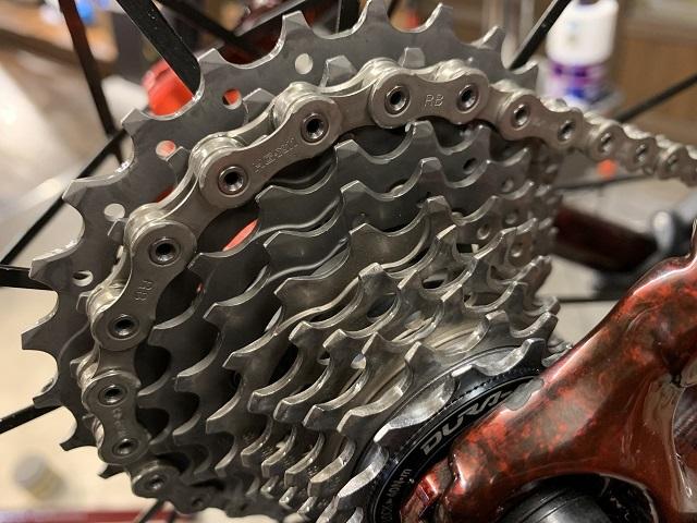 自転車屋 まるいち 自転車洗車 (6)