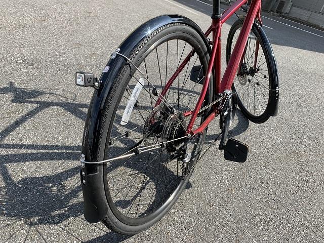 スポーツ自転車フェンダー