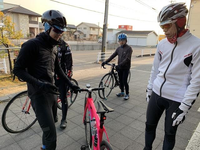2月8日 まるいち サイクリング 岡崎市 (1)