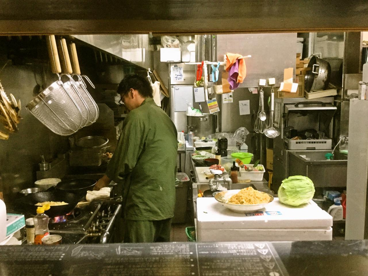 藩次郎(厨房)