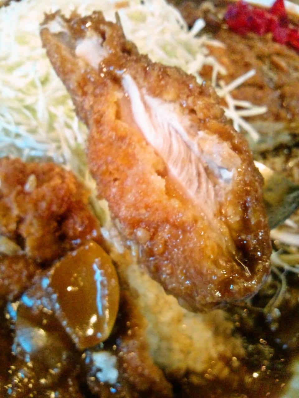 ぼんち食堂(ミックスカツカレー)