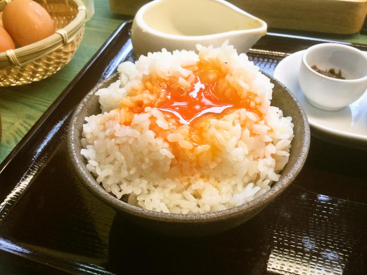えぐぅ~カフェ 小平本店(卵かけご飯)