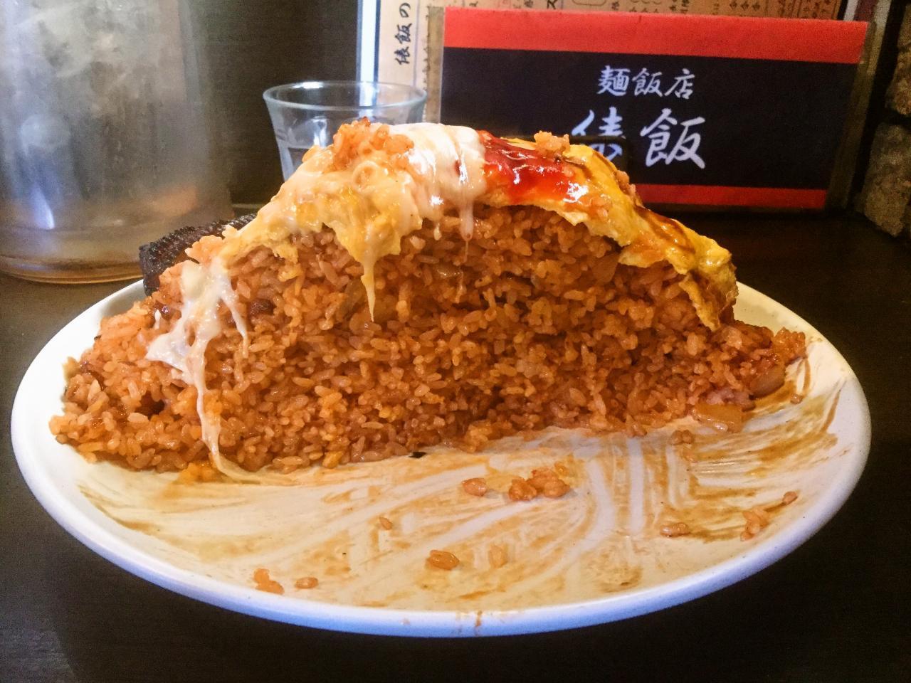 俵飯(オムライス)