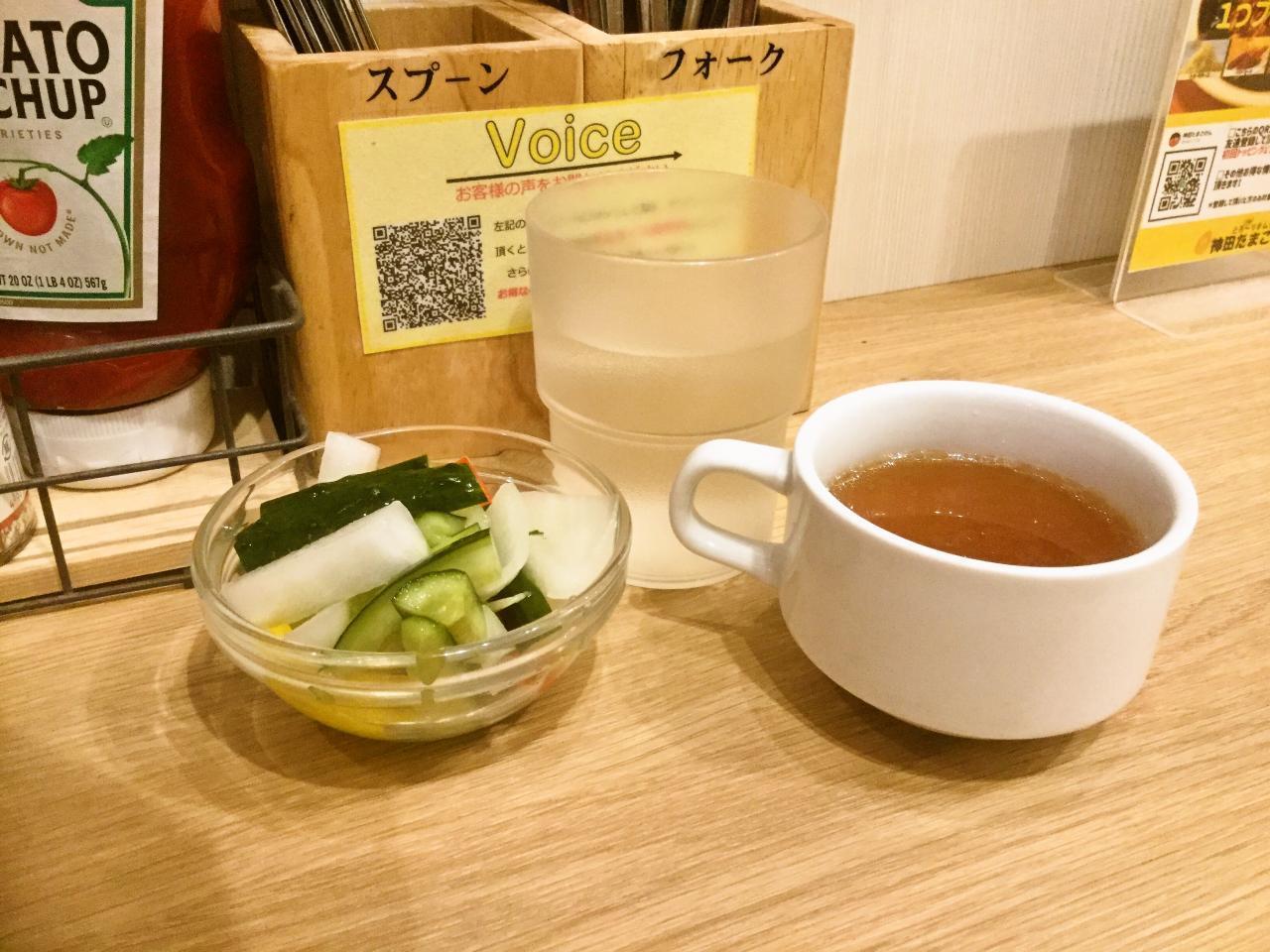 神田たまごけん神保町店'(スープ)