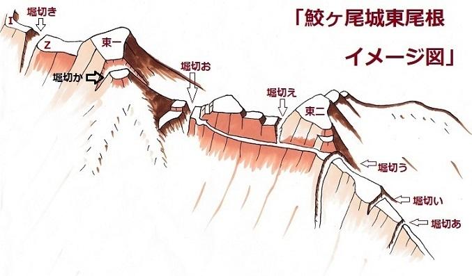 鮫ヶ尾東尾根24-90