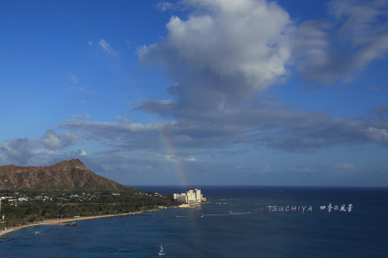 ハワイ虹 2