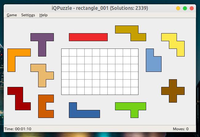 iQPuzzle ペントミノパズル 遊び方