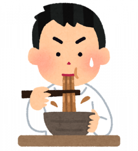 syokuji_curry_udon_man.png
