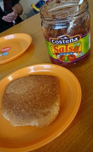 サルサソース&パン耳