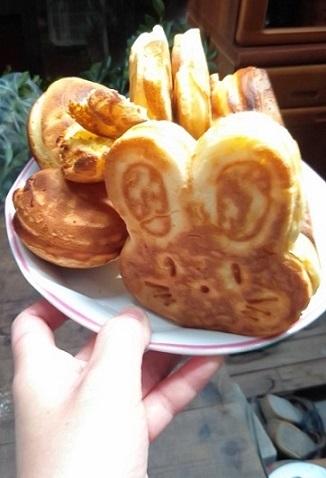 うさちゃんホットケーキ