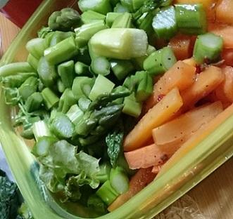 野菜のしっぽたち