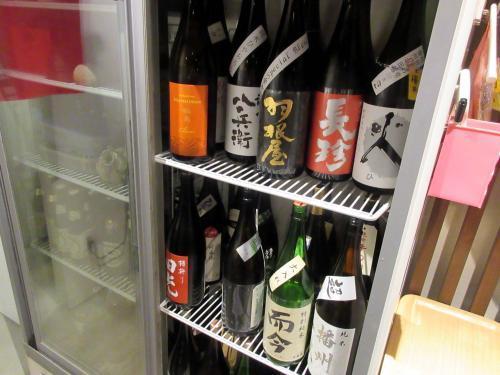 日本酒は選択制