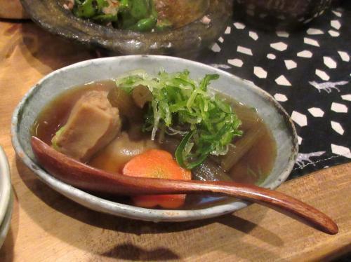 ふきと高野豆腐の旨煮