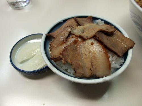 ミニ焼豚丼