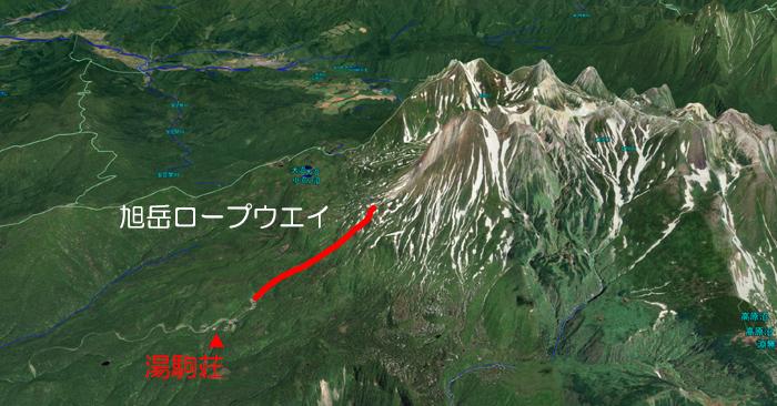 旭岳MAP