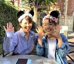 9月17日 ディズニー 2人