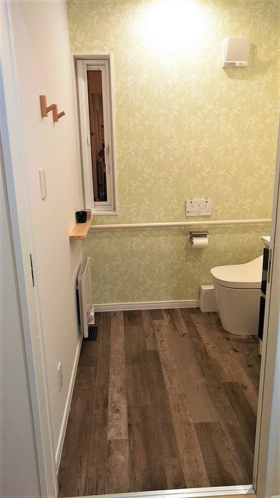 新居1階トイレ