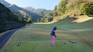 女子会ゴルフ秋_002