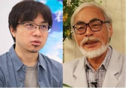 2022年に新海誠と宮崎駿の直接対決が見れるかもしれないwww